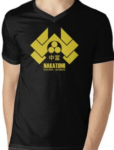 Nakatomi Plaza Mens V-Neck T-Shirt