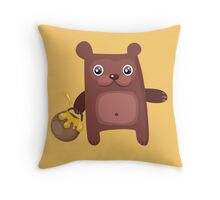 Bear Cutie Throw Pillow