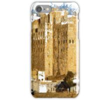 """The Oldest Skyscraper City in the World"" , Shibam, Yemen iPhone Case/Skin"