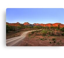 Outback Trail Canvas Print