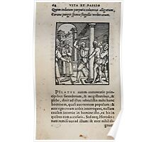Contemplation Life and Passion Our Lord Jesus Christ Albrecht Durer 1557 0068 Poster
