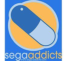 Sega Addicts - Classic Logo Photographic Print