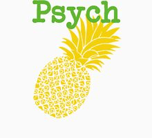 Minimalist Psych TV Show Pop Culture Lime Yellow Fun Green Pineapple Unisex T-Shirt