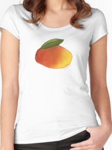 Mango Women's Fitted Scoop T-Shirt