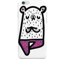 Yogi Bear- Vrikshasana iPhone Case/Skin