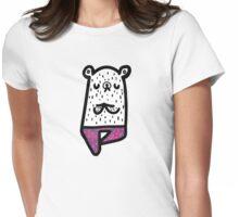 Yogi Bear- Vrikshasana Womens Fitted T-Shirt