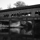 Covered Bridge - Waynesville Ohio by Tony Wilder