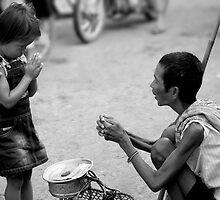 Giving Alms by Adrianne Yzerman