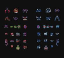Metroid Enemies by DukeJaywalker