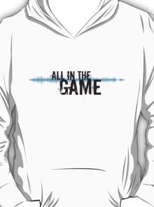 "All in the Game - ""The Wire"" - Black T-Shirt"