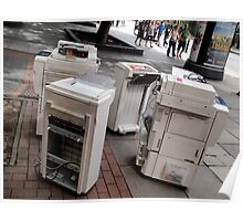 Printer Lunch Break Poster