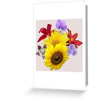 Flowers Blossom  Greeting Card