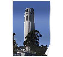 the Many Sides of Coit Tower Poster
