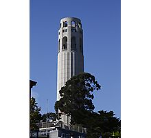 the Many Sides of Coit Tower Photographic Print
