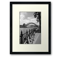 Sydney Harbour bridge 1 Framed Print