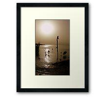 sunset delight Framed Print