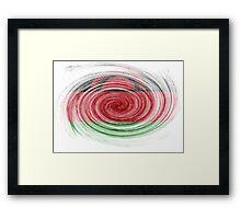 Malawi Twirl Framed Print
