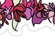 Flower Crown - Pink Sticker