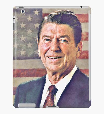 Patriot Ronald Reagan iPad Case/Skin