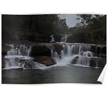 Twin Falls - Cape York Poster