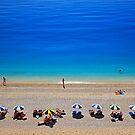 Egremni beach - Lefkada island by Hercules Milas