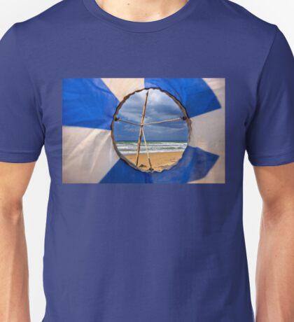 A Greek beach, no doubt! Unisex T-Shirt