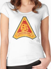 C-Bucs Women's Fitted Scoop T-Shirt