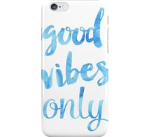 Good Vibes Sky iPhone Case/Skin