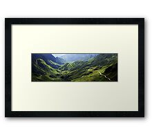 Leaving Sa Pa Framed Print