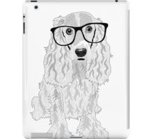 Clever dog iPad Case/Skin