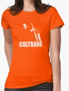 COLTRANE BLACK MENS Womens Fitted T-Shirt