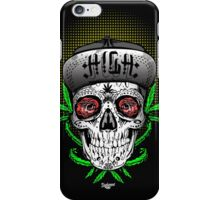 Weed Sugar skull iPhone Case/Skin