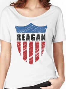 Reagan Patriot Shield Women's Relaxed Fit T-Shirt