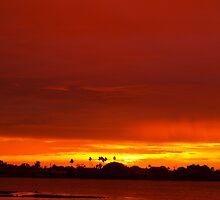 Crimson and amber world by ♥⊱ B. Randi Bailey