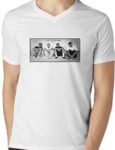 Black Hippy! Mens V-Neck T-Shirt