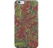 Oak leaves - Tataro pattern iPhone Case/Skin