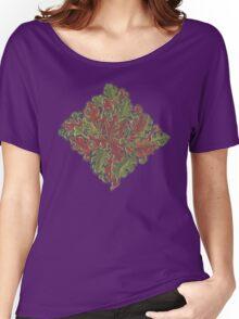 Oak leaves - Tataro pattern Women's Relaxed Fit T-Shirt