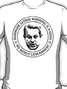 Manmade Global Warming Hoax T-Shirt