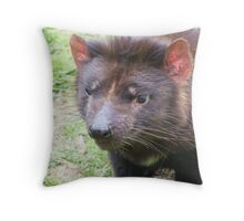 Tassie Devil - and friends Throw Pillow