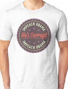Impeach Obama Unisex T-Shirt