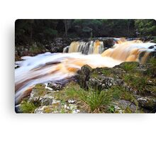 """Nelson River Falls"" Canvas Print"