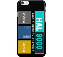 HAL 9000 Black Edition iPhone Case/Skin