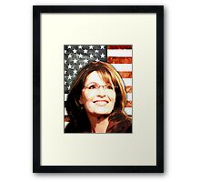Sarah Palin Patriot Framed Print