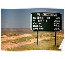 Road Sign >> Poster