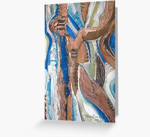 Aerial Contours Greeting Card