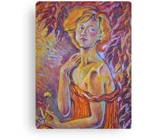 Dandelion- Self Portrait  Canvas Print