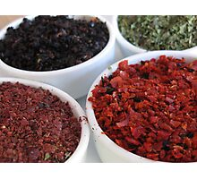 Spices - Istanbul, Turkey Photographic Print