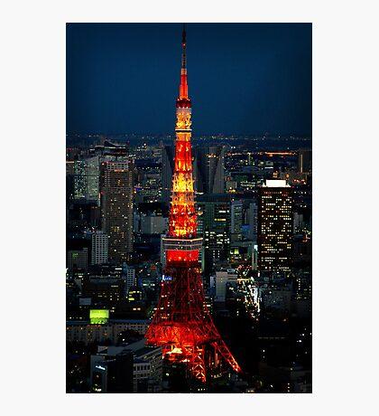 Tokyo Tower Photographic Print
