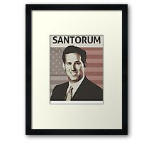 Rick Santorum Framed Print