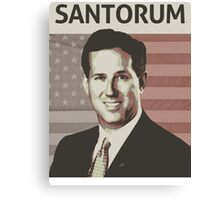 Rick Santorum Canvas Print